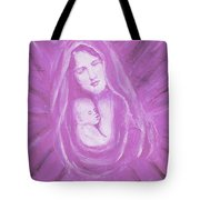 Protecting Love Of The Mother  Tote Bag