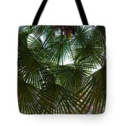 Protecting Palms Tote Bag