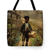 Protecting The Groceries Tote Bag by Edward Lamson Henry