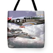 Protecting The Heavies Tote Bag