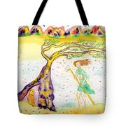 Protection There Tote Bag