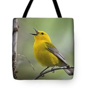 Prothonotary Wabler Tote Bag