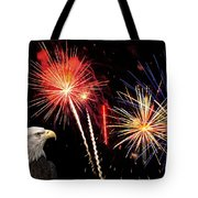 Proud And Free 3 Tote Bag