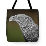 Proud Bald Eagle  Tote Bag