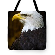 Proud Eagle Profile Tote Bag by Athena Mckinzie