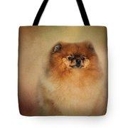 Proud Pomeranian Tote Bag