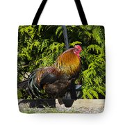 Proud Rooster Tote Bag
