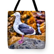 Proud Thayer Gull Tote Bag