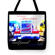 Proud To Be Standing By You Side Tote Bag