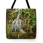 Proud Heron Tote Bag
