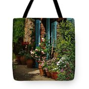 Provencal Alley Tote Bag