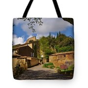 Provencal Village Tote Bag