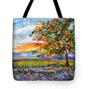 Provence Lavender Fields Tote Bag