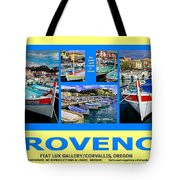 Provence Poster Tote Bag