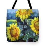 Provence Sunflower Trio Tote Bag