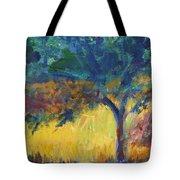Provence Tree Tote Bag