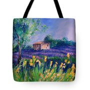 Provence Yellow Flowers Tote Bag