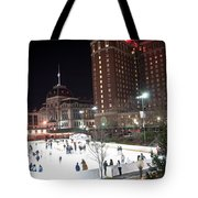 Providence On A Cold December Evening Tote Bag