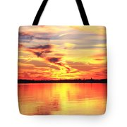 Provincetown Harbor Sunset Tote Bag