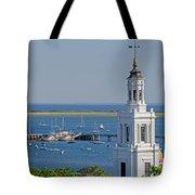 Provincetown Steeple Tote Bag