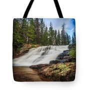 Provo River Falls 2 Tote Bag