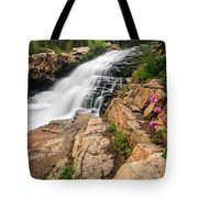 Provo River Falls 3 Tote Bag