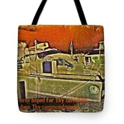 Psalm 119 116 Tote Bag