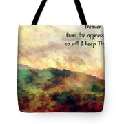 Psalm 119 134 Tote Bag