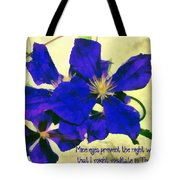 Psalm 119 148 Tote Bag