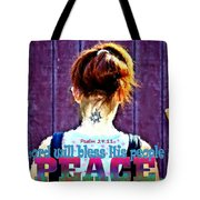 Psalm 29 11 Tote Bag