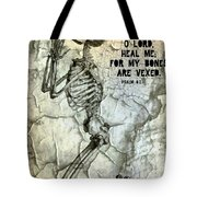 Psalm 6 2 Tote Bag by Michelle Greene Wheeler