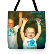 Psalm 63 4 Tote Bag