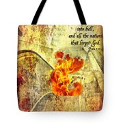 Psalm 9 17 Tote Bag