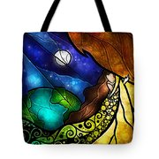 Psalm 91-4 Tote Bag