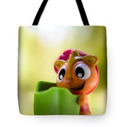 Pssst Down Here Tote Bag