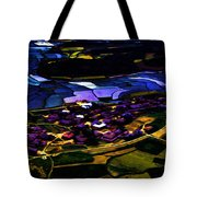 Psychadelic Aerial View Tote Bag