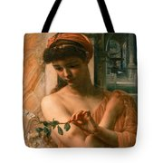 Psyche In The Temple Of Love Tote Bag