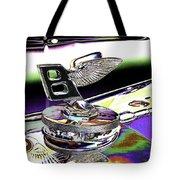 Psychedelic Bentley Mascot 2 Tote Bag