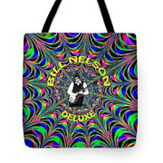 Psychedelic Bill Nelson Deluxe Tote Bag