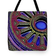 Psychedelic Church Window Tote Bag