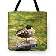 Psychedelic Duck  Tote Bag