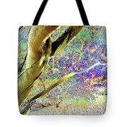 Psychedelic English Park Tote Bag