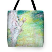 Psychedelic Hitchhiker Tote Bag