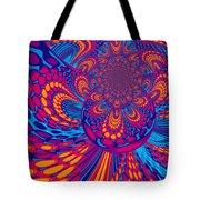 Psychedelic Mind Trip Tote Bag