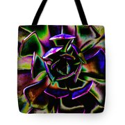 Psychedelic Rubber Plant Tote Bag