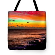 Psychedelic Sky Tote Bag