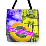 Psychedelic Underground Tote Bag