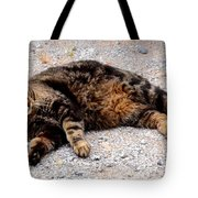 Psycho The Cat Tote Bag