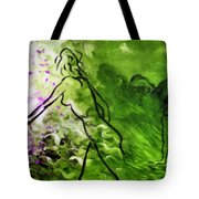 Psychological State In Green Tote Bag