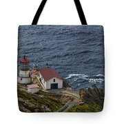 Pt Reyes Lighthouse Tote Bag